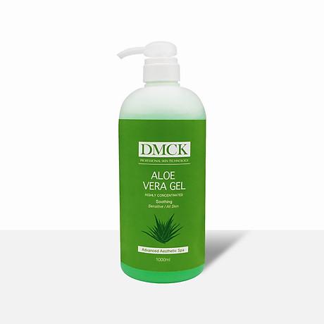 Gel dưỡng ẩm nha đam, Tươi mát, Làm dịu da, Cấp nước, Cấp ẩm cho da - DMCK Aloe Vera Gel 1000ml 1