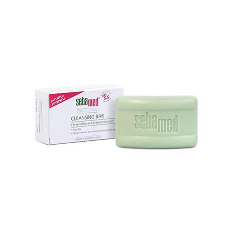 Xà Phòng Làm Sạch Kháng Khuẩn Ngừa Viêm Sebamed Sensitive Skin Cleansing Bar Ph5.5 Từ Đức Bánh 100Gr 1