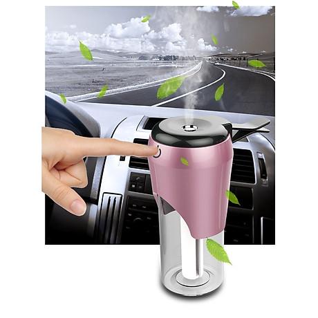 Máy tạo độ ẩm dành cho ô tô (Màu ngẫu nhiên) - tặng kèm đèn pin bóp tay 2