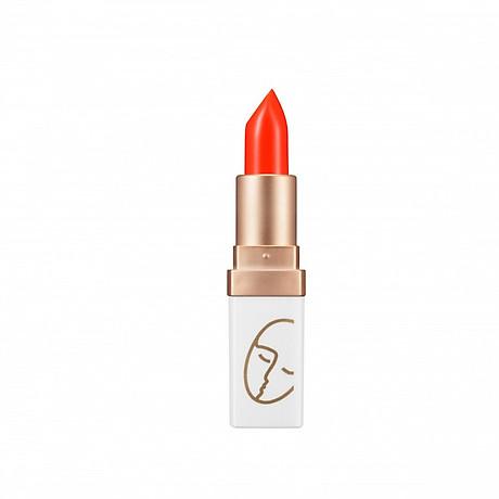 Son Lì Lâu Trôi (màu Cam) No 4_Javin De Seoul Flower For Me Velvet Lipstick 4 (Neon Orange) 1