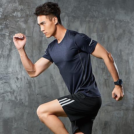 Bộ quần áo thể thao nam co giãn 4 chiều phiên bản Hàn Quốc mã QA.H-193 4