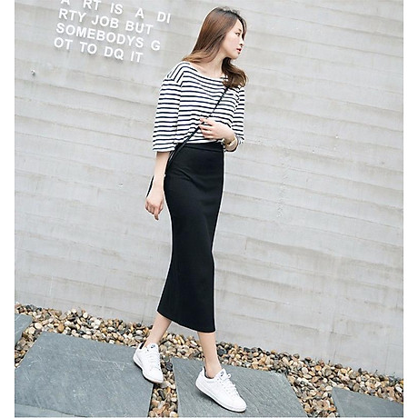 Chân váy bút chì dáng dài Haint Boutique Cv13 3