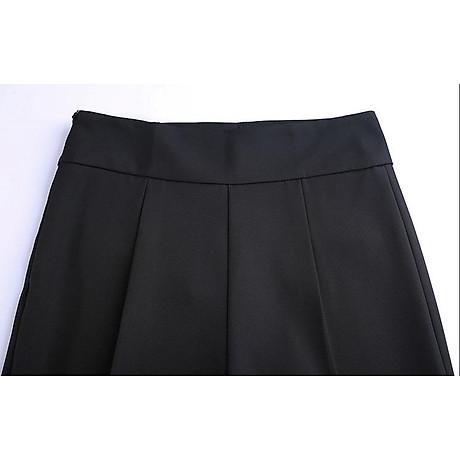 Quần ống sớ, quần nữ dáng suông ống rộng khóa sườn Haint Boutique Qt19 4