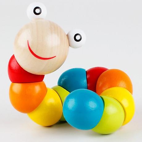 Combo 6 món đồ chơi gỗ an toàn cho bé- phát triển trí tuệ - Tă ng ke m theo bô đô chơi đâm ha i tă c cho be 8