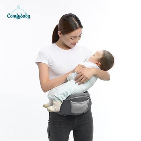 Địu ngồi cao cấp 4 tư thế chống vòng kiềng Comfy Baby 7