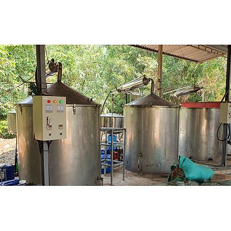 Tinh dầu hoa Sen Trắng 100ml Mộc Mây - tinh dầu thiên nhiên nguyên chất 100% - chất lượng và mùi hương vượt trội - Có kiểm định 17