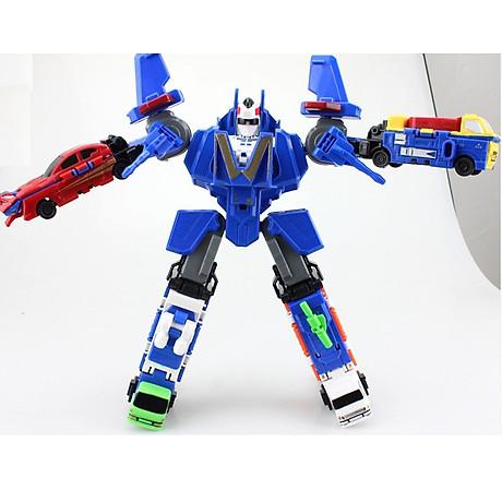 Bộ đồ chơi Robot lắp ghép biến hình cho bé yêu 8