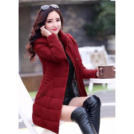 Áo khoác phao nữ cực ấm NT4283N1 1
