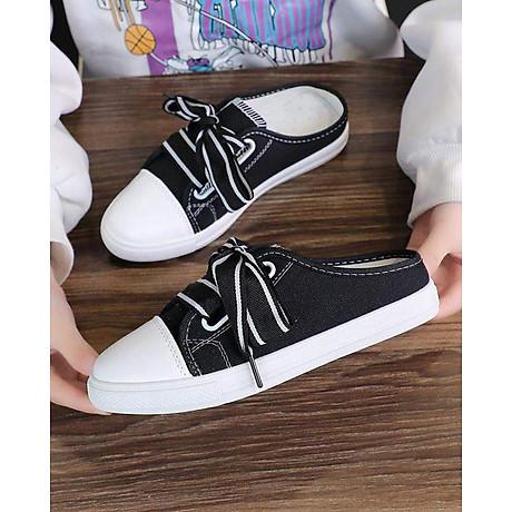 Giày Sục Sneaker Thể Thao Nữ Vải Mềm Stye Hàn Quốc Cực Xinh 3Fashion - 3181 2