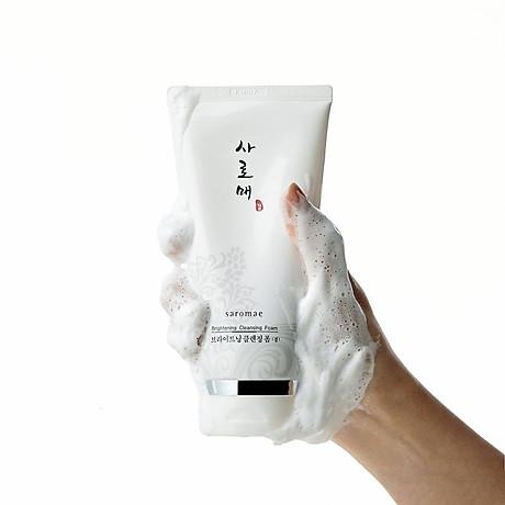 Sữa Rửa Mặt Làm Sáng Da SAROMAE BRIGHTENING CLEANSING FOAM 1