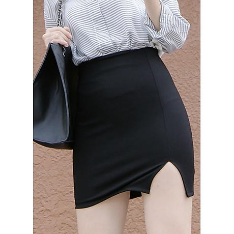 Chân váy xẻ trước thời trang 1