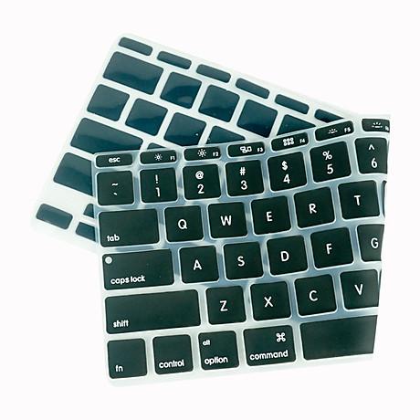 Lót bàn phím in chữ cho Macbook Alphabet Silicone Skin Keyboard - Hàng Chính Hãng 2