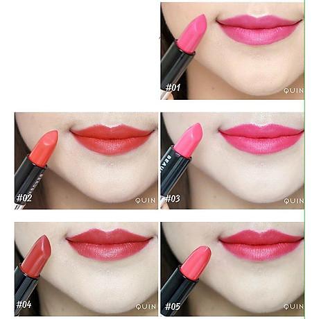 Son lì mềm môi Beauskin Luxury Darling Matte Hàn Quốc 3.5g ( 04 - Đỏ sắc nâu) + Móc khóa 3