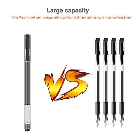 10 cây bút mực Xiaomi Gel Pens 0.5mm với khoang chứa mực rộng chống lem chống tắc 5