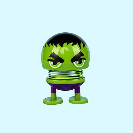 Set 6 thú nhún Emoji lò xo siêu anh hùng 7