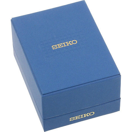 Seiko Men s SRN052 Stainless Steel Watch with Leather Band 3