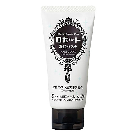 Sữa Rửa Mặt Dưỡng Ẩm Rosette Face Wash Pasta Glacial Clay Cleanser (120g) 1
