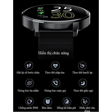 Đồng hồ thông minh đo nhịp tim, theo dõi sức khỏe T4 Pro ( Thiết kế sang trọng, chống nước cao IP68 ) - Hàng Nhập Khẩu 7