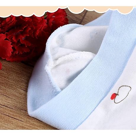 Combo 2 Mũ Che Thóp Cotton Mềm Cho Trẻ Sơ Sinh 0-6 Tháng - Họa Tiết Bé Gái 8