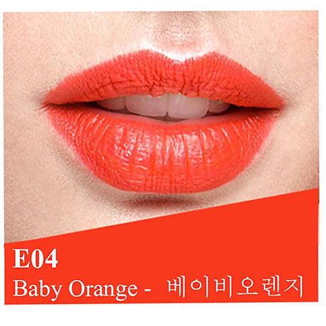 Son lì dưỡng, siêu mềm mượt Benew Perfect Kissing Hàn Quốc 3.5g E04 Baby Orange tặng kèm móc khóa 2