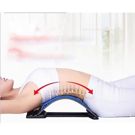 Dụng cụ tập cơ lưng, hỗ trợ điều trị thoái hóa khớp, thoát vị đễ đệm, đau lưng và mỏi vai gáy (Màu ngẫu nhiên) 2