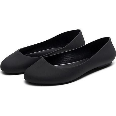 Giày nhựa đi mưa búp bê công sở đế mềm siêu nhẹ form chuẩn 182 2
