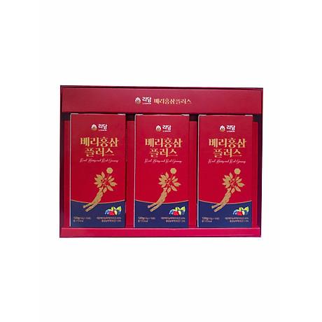 Nước Hồng Sâm Quả Mọng Cung Cấp Collagen Và Vitamin Berry Red Ginseng Plus 360g (12g x 30 gói) Hàng Nhập Khẩu Cao Cấp 2