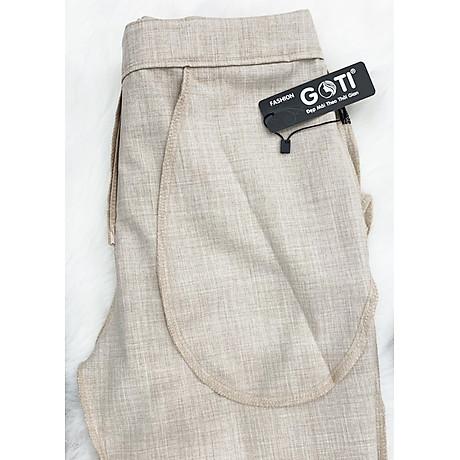 Quần tây nữ công sở kiểu quần tây dáng đứng GOTI 3089 6