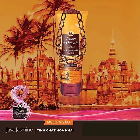 Sữa tắm xích hương hoa nhài Tesori D Oriente Jasmin Of Java 250ml + Móc khóa 4