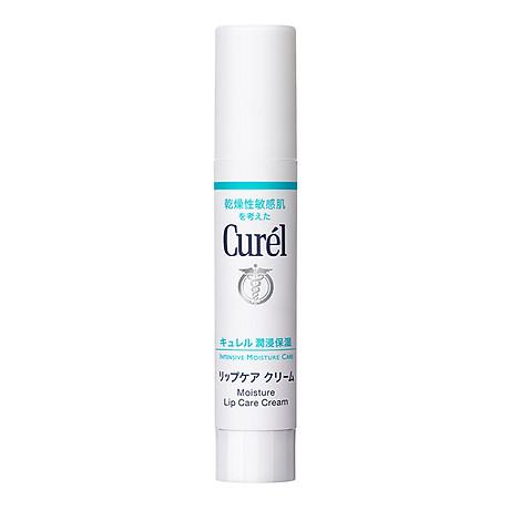 Son Dưỡng Môi Cấp Ẩm Chuyên Sâu Curel Intensive Moisture Care Moisture Lip Care Cream 4.2g (Không Màu) 1