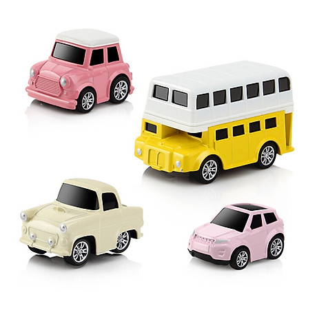 Bộ 8 Ô Tô Mô Hình Đồ Chơi MINI CAR Cho Bé Trai 3