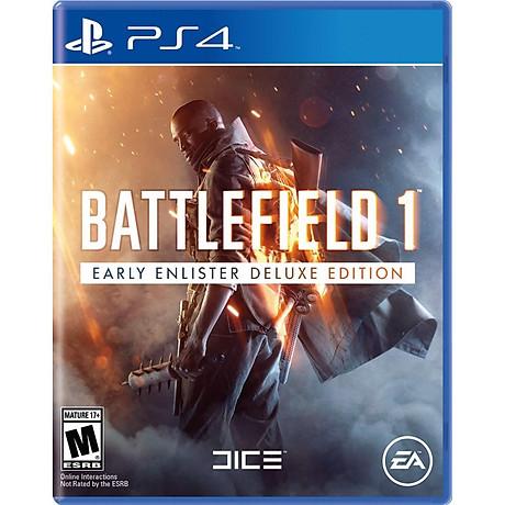 Đĩa Game PS4 Battlefield 1 Early Enlister Deluxe Edition - Hàng Nhập Khẩu 1