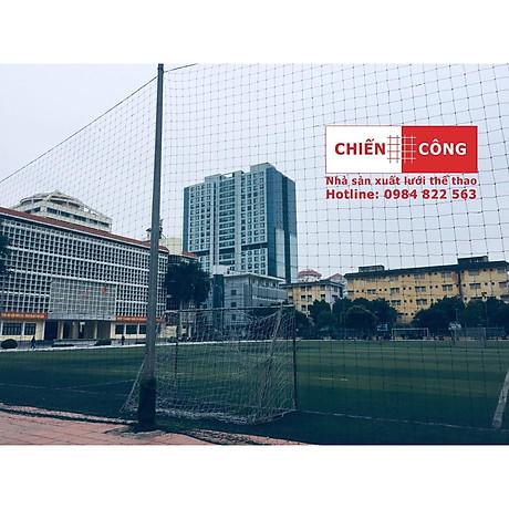 Lưới Chắn Sân Bóng 2.5ly sợi đanh nặng - Xanh Rêu 3