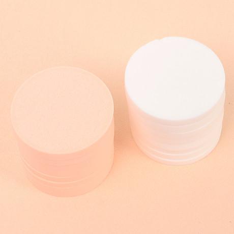 Bộ 16 bông mút đánh phấn hình tròn siêu mềm mịn phong cách Hàn Quốc - MN001 4