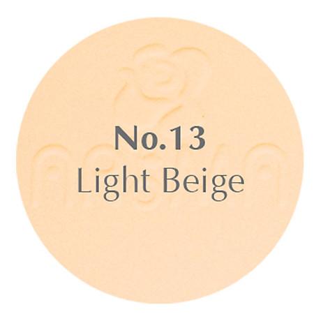 Phấn phủ dạng nén siêu mịn Aroma Two Way Cake Hàn Quốc 14g No.13 Da sáng tặng kem móc khoá 2