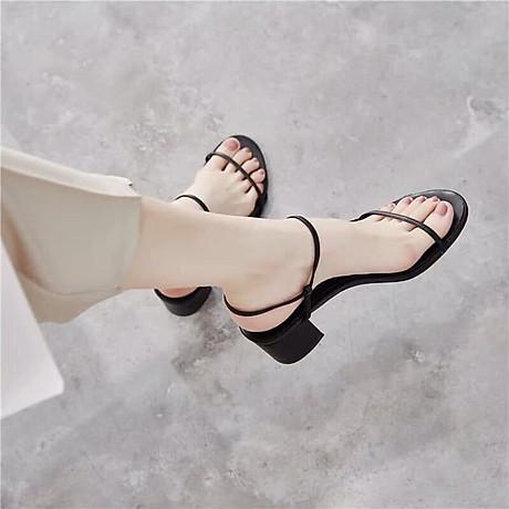 Sandal quai ngang dọc cao cấp Korea 1