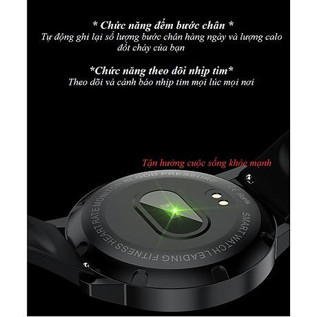 Đồng hồ thông minh đo nhịp tim, theo dõi sức khỏe T4 Pro ( Thiết kế sang trọng, chống nước cao IP68 ) - Hàng Nhập Khẩu 6