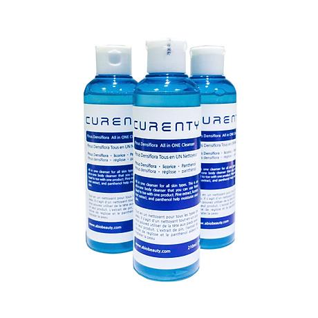 Sữa Rửa Mặt Đa Dụng Chiết Xuất Cây Thông Đỏ Curenty All in ONE Cleanser 210ml (Hàng Nhập Khẩu Cao Cấp) 4