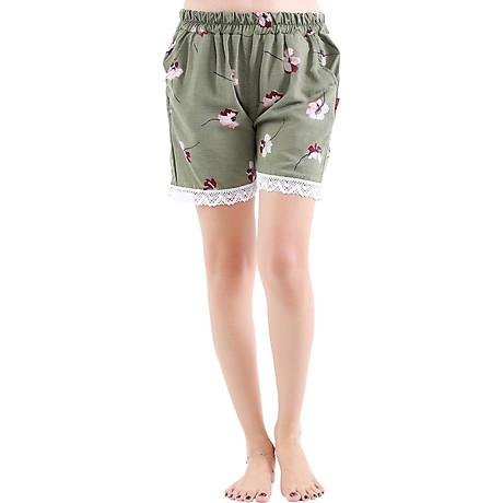 Combo 4 quần short nữ hoạ tiết thổ cẩm Phúc An 3014 7