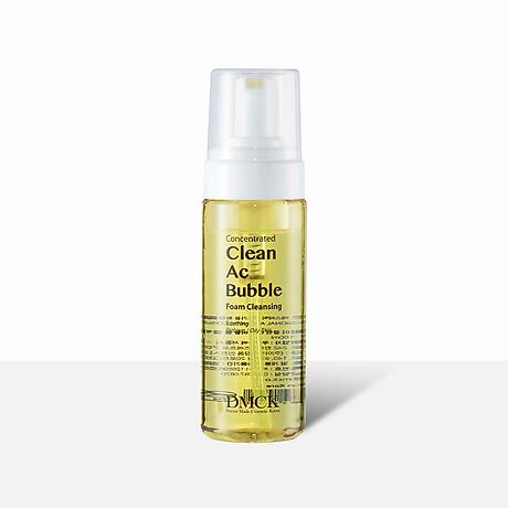 Sữa rửa mặt dạng bọt, Làm sạch da, Bọt tinh khiết, Làm dịu da mụn, nhạy cảm, Bảo vệ da - DMCK Clean Ac Bubble Foam Cleansing 160ml 1