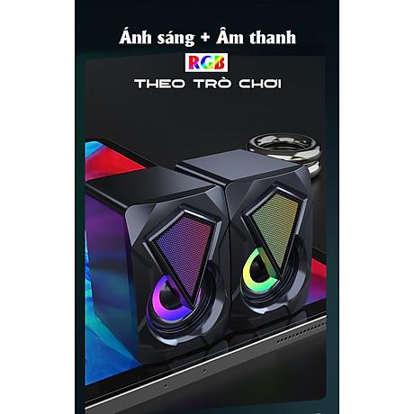 Loa OOE SUPER BASS 2021 Âm Thanh Vòm 3D Phiên Bản Đặc Biệt, Dùng Cho Máy Tính, Laptop, PC, Tivi - Hàng Chính Hãng 1