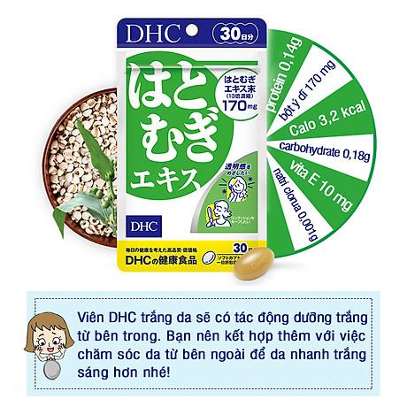 Combo SÁNG DA - MỜ THÂM DHC Nhật Bản gồm viên uống vitamin C và viên uống trắng da 30 ngày JN-DHC-CB1 7