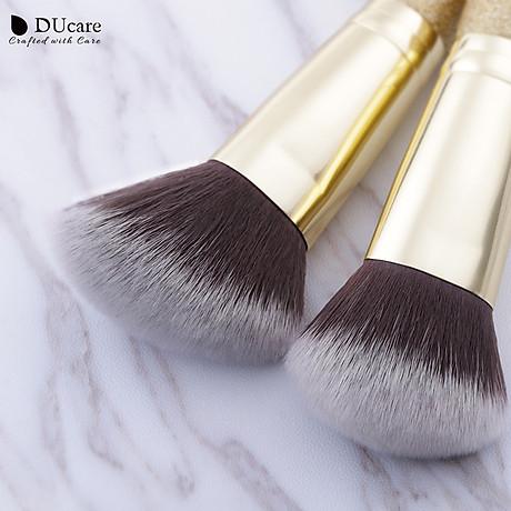Combo cọ trang điểm DUcare 2 PCS Double-ended Makeup Brushes Foundation Powder Contour Brush 3