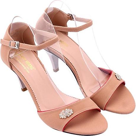 Giày Sandal Nữ Cao Gót Huy Hoàng HT7060 - Nude 1