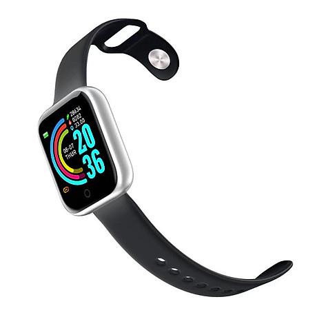 Đồng hồ thông minh Y68 LED và cảm ứng siêu mượt, hiển thị Cuộc gọi, Theo dõi sức khoẻ - Giao màu ngẫu nhiên 7