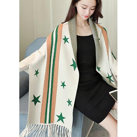 Áo khoác len in họa tiết ngôi sao GOTI1474330 7