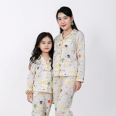 Đồ bộ Pijama Mẹ và Bé 2