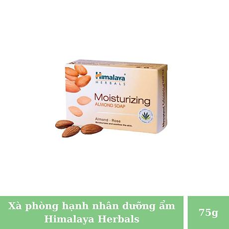 Bộ ba Xà phòng hạnh nhân dưỡng ẩm Himalaya giúp dưỡng ẩm, duy trì đàn hồi và cho làn da khỏe mạnh - Moisturizing Almond Soap 75g 2
