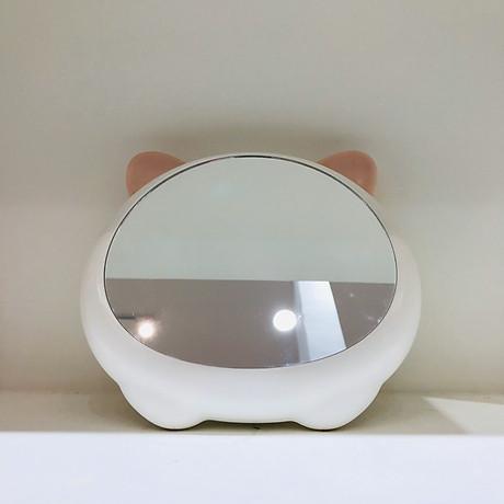 Gương để bàn Cute Cat cao cấp 3