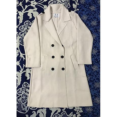 áo khoác dạ nữ dài 3